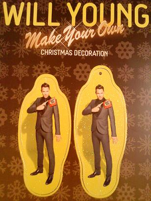 Will Young Christmas Decoration
