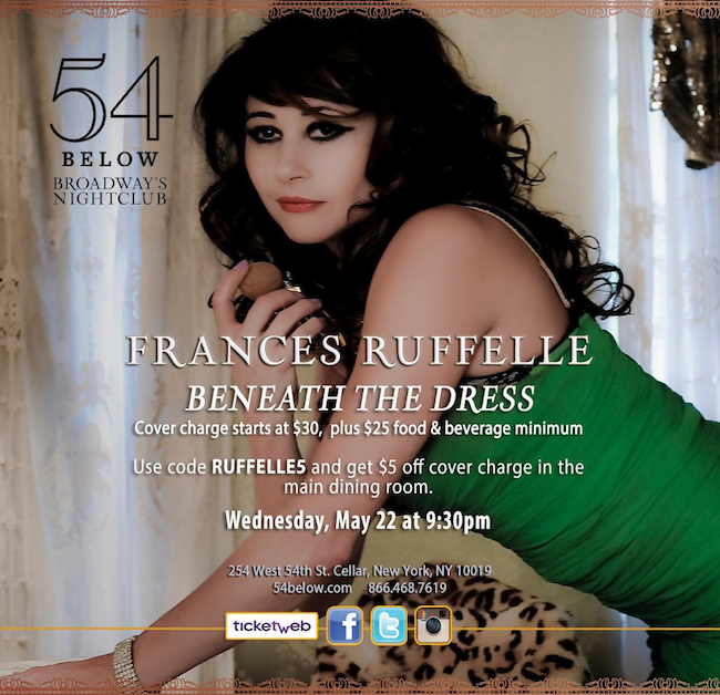 Frances Ruffelle - Beneath The Dress, New York