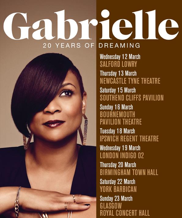 Gabrielle UK Tour