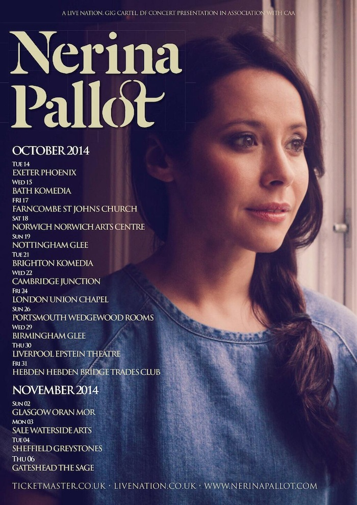 Nerina Pallot UK Tour 2014