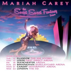 Mariah UK Tour 2016